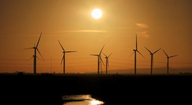 Businesses working in the fields of renewable energy and low carbon technology and products had a turnover of £43.1 billion, figures show