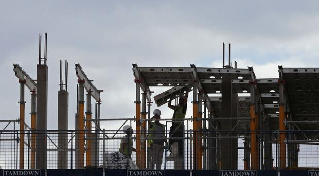 Construction output came in shy of expectations, falling by 1.7 per cent in February