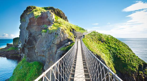 Carrick-a-Rede is a major tourist draw