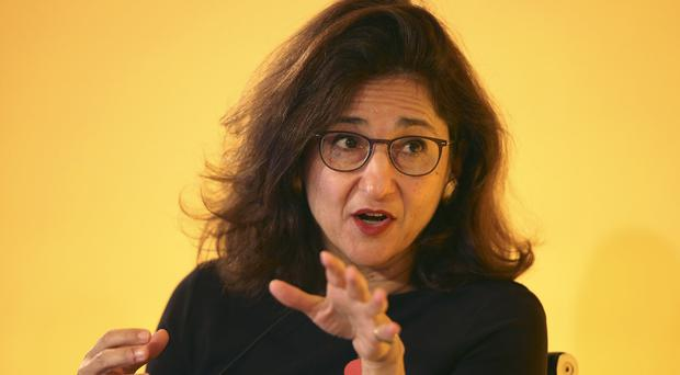 Dame Minouche Shafik was formerly deputy governor of the Bank of England