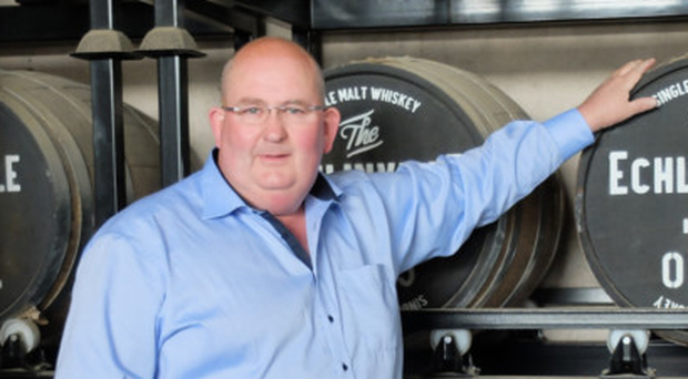 Echlinville distillery owner Shane Braniff will toast his firm's latest success with three new product launches