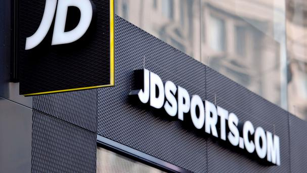 JD Sports shares surge to record high after profit jumps