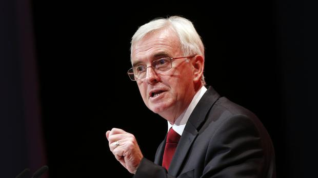 John McDonnell has written to Chancellor Philip Hammond calling for an investigation