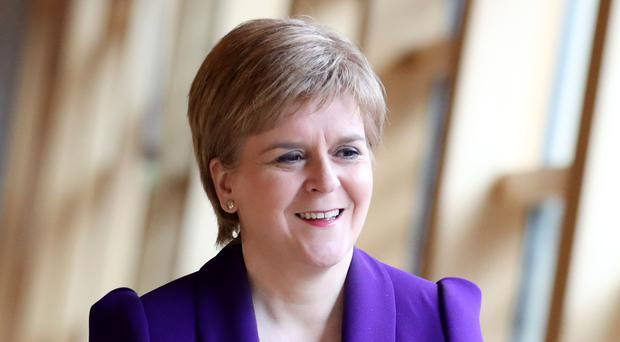 Ms Sturgeon hailed the opportunity for Scottish firms