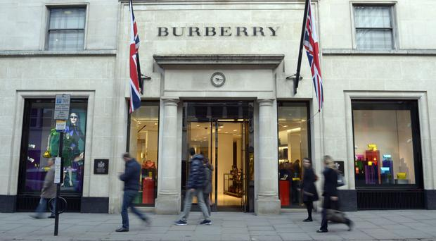 Burberry sales have risen on the back of sterling's slide