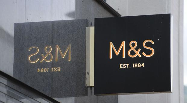 Marks & Spencer said customers' habits were changing
