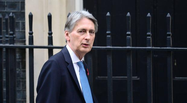 Mr Hammond will meet Morgan Stanley and Goldman Sachs bosses in New York