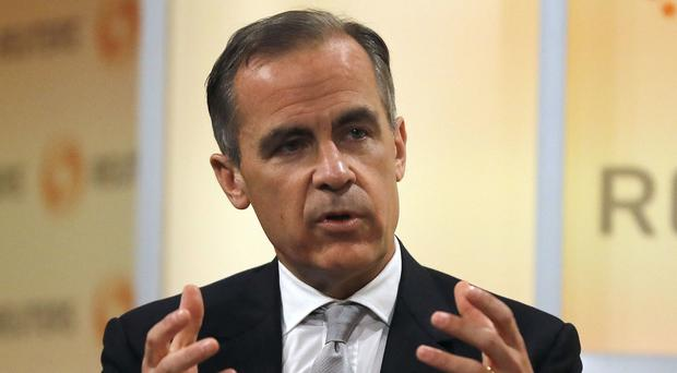 Mark Carney gave a speech at the Institute of International Finance's Washington Policy Summit in America