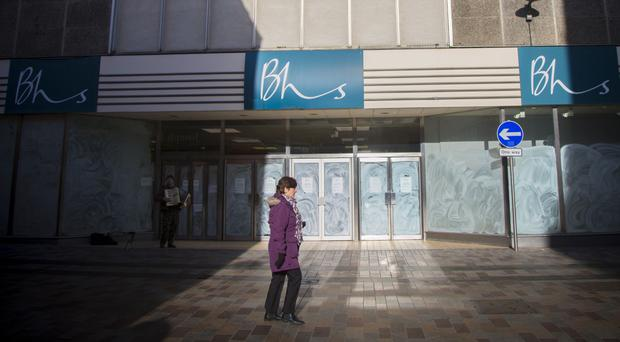 The vacant BHS store at Castle Place in Belfast city centre is one of three units which are currently empty
