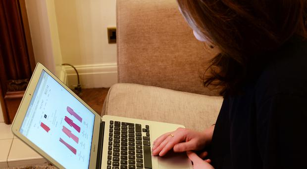 A quarter of all card spending (26%) was online last year, the figures show