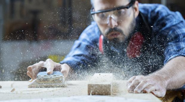There's a shortage of tradespeople, particularly carpenters and joiners