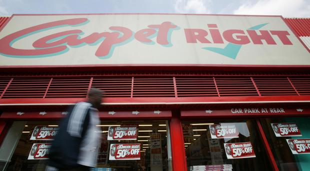 Carpetright reported UK like-for-like sales rising by 1.4% in its final quarter to April 22, down from 1.9% in the previous three months