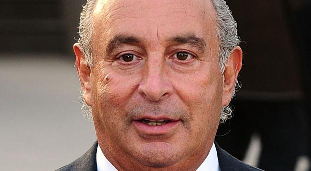 Sir Philip Green hit back in a letter to Frank Field