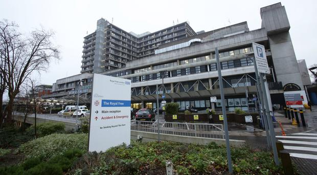 Full-time workers at the Royal Free Hospital pay £85.38 a month to park