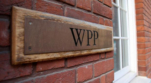 Advertising firm WPP said the UK and Western Continental Europe had grown strongly on a like-for-like basis