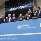 Chief executives from the 17 new LSE ELITE programme firms open trading in London