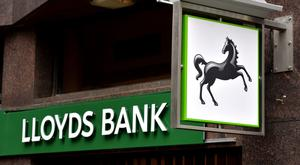 Lloyds doubled its profits in the first three months of the year
