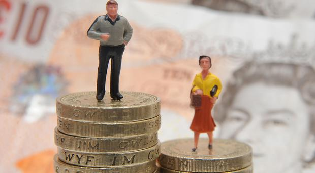 Only one in four people earning between £43,000 and £150,000 in each of the last six years are women, research shows