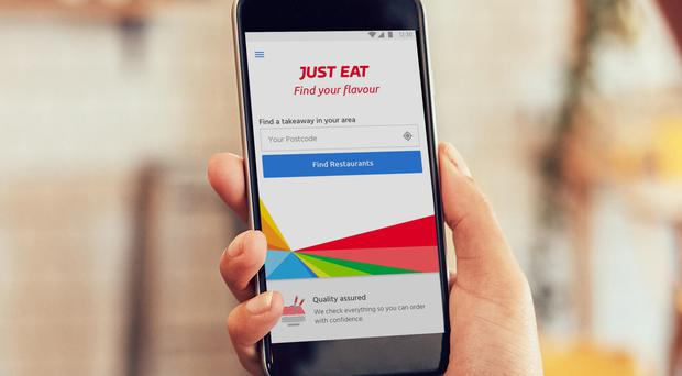Just Eat said the figure would have been higher had it not been for an early Easter and one day less of trading because of the leap year