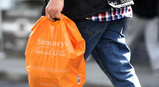 Sainsbury's reported pre-tax profits of £503 million for the year to March 11
