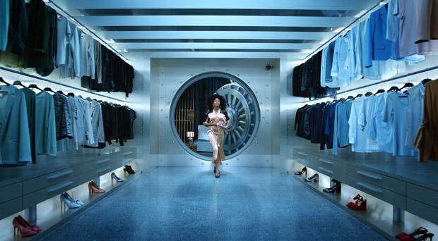 A still from the new M&S campaign which advertises food and clothing together for the first time (Marks & Spencer/PA)