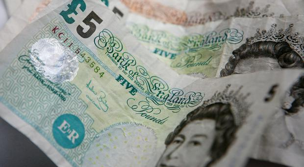 The old-style five pound notes lose their legal status on May 5