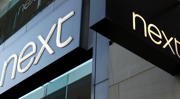 Shares in Next fell as much as 7% at one stage after the worse-than-expected first quarter performance as the group battles against falling consumer confidence and the impact of mistakes in its clothing range last year (stock photo)
