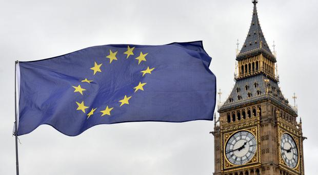 Business confidence has increased gradually since the EU referendum, a report says.