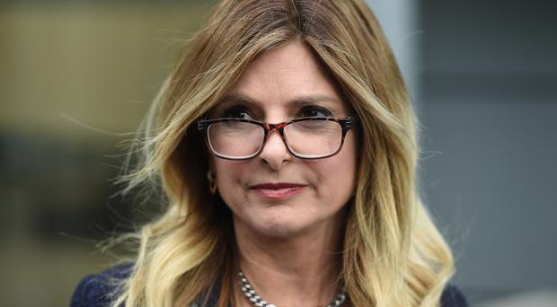 Lisa Bloom speaks to the media outside Ofcom in London, after issuing a warning over Rupert Murdoch's bid for Sky