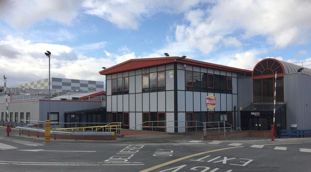 The Walkers plant in Peterlee, County Durham, is set to close