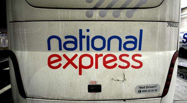 National Express said moves to cut fares had begun to bear fruit, with passenger numbers and sales up