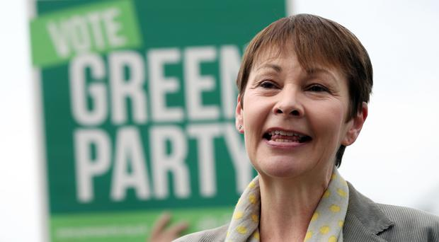 Co-leader Caroline Lucas will announce plans to create locally owned energy companies.