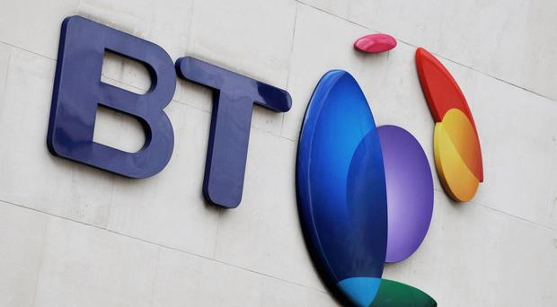 BT's share price and profits have been dented