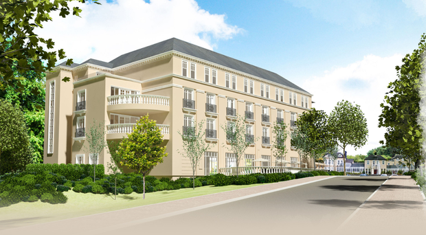 An artist's impression of how the revamped Tullyglass House Hotel will look