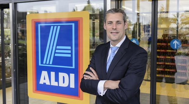 Aldi boss Matthew Barnes has outlined ambitious expansion plans