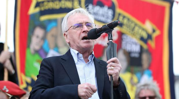 John McDonnell said the