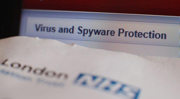 The cyber attack which has disrupted the NHS could spread with the start of the working week