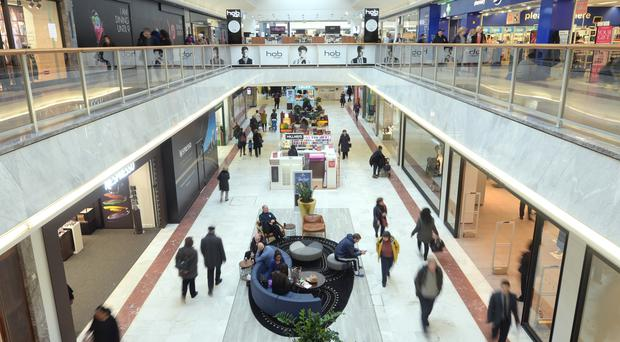 Footfall in Scottish shops soared in April