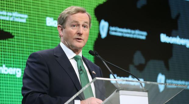 Enda Kenny said Ireland's firms are finding new trading avenues in the face of economic uncertainty