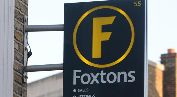 Foxtons said revenue fell 25% to £28.7 million in the quarter ending March 31, down from £38.4 million in the same period last year