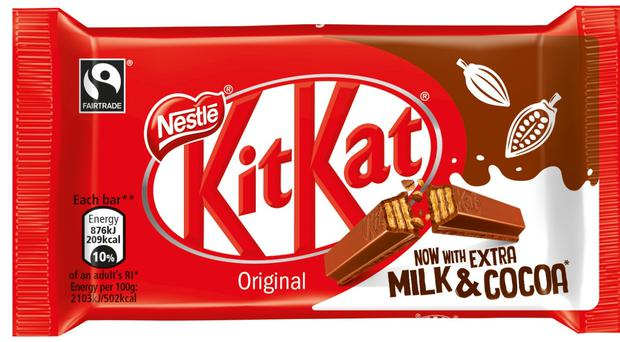 Nestle has failed to register a four-finger KitKat as a trademark