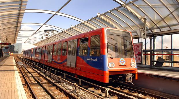 The Docklands Light Railway in east London is to benefit from investment in new trains