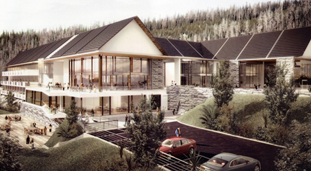 An artist's impression of the planned Seven Hills Hotel
