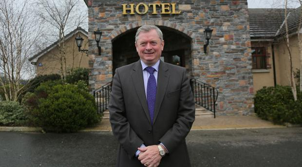 Eugene McKeever at Corr's Corner Hotel, which was the first hotel in the family-run hospitality business