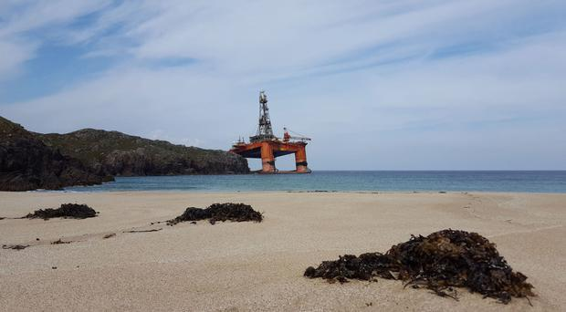 The Transocean Winner came ashore at Dalmore on Lewis in August last year