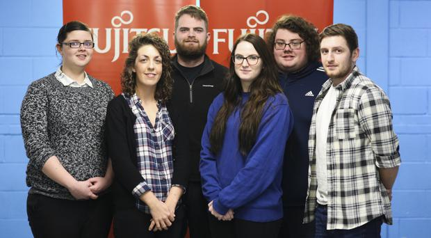 Fujitsu's new apprentices are raring to go