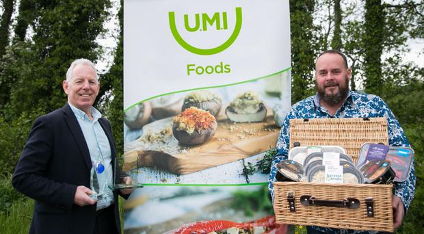 Plunkett Curry and Seamus Cassidy of UMI Foods