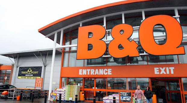 Sales at B&Q owner Kingfisher dipped in the first quarter