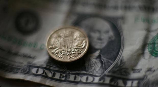 The pound fell 0.2% versus the US dollar to 1.293