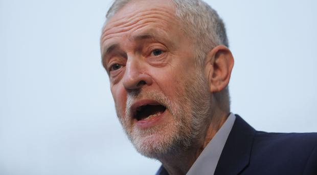 The Conservatives' advantage over Jeremy Corbyn's Labour has narrowed to just five points, an opinion poll says